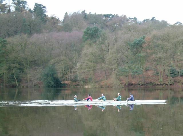Rowing on Rudyard Lake